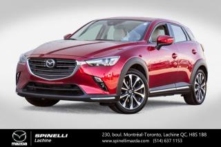 Used 2019 Mazda CX-3 GT AWD CUIR SIEGES ET VOLANT CHAUFFANTS  BLUETOOTH Mazda CX-3 GT AWD 2019 for sale in Lachine, QC