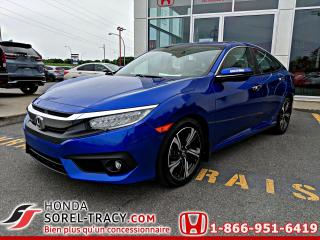 Used 2017 Honda Civic Touring 4 portes CVT for sale in Sorel-Tracy, QC