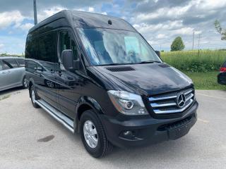 Used 2017 Mercedes-Benz Sprinter 12 passengers diesel for sale in Waterloo, ON