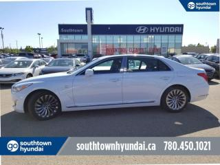 Used 2017 Genesis G90 5.0L/ULTIMATE/AWD/BLIND SPOT/COOLED HEATED SEATS for sale in Edmonton, AB