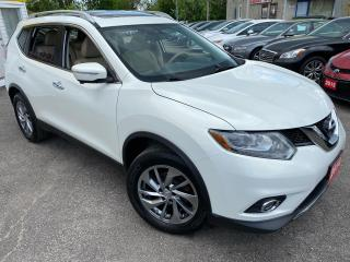 Used 2014 Nissan Rogue SL/ LEATHER/ SUNROOF/ NAVI/ 360° CAM/ ALLOYS ++ for sale in Scarborough, ON