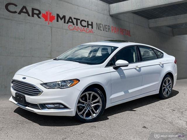 2017 Ford Fusion SE / LEATHER / NO ACCIDENTS