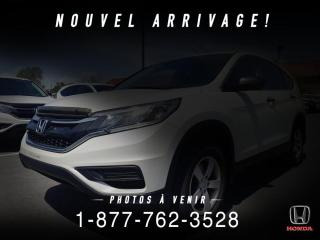 Used 2015 Honda CR-V LX + A/C + CRUISE + PROPRE + WOW! for sale in St-Basile-le-Grand, QC