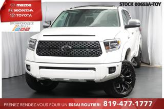 Used 2018 Toyota Tundra PLATINUM| 10 000$ DE MODIFS| UNIQUE! for sale in Drummondville, QC