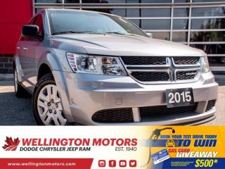 Used 2015 Dodge Journey Canada Value Pkg --> 4 New Tires !! for sale in Guelph, ON