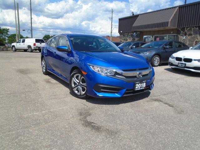 2018 Honda Civic LX CVT NO ACCIDENT SAFETY WARRANTY B-TOOTH B-CAMER