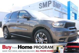 Used 2019 Dodge Durango GT-Leather, Nav, Sunroof, Rem. Start, Pwr Lift Gate for sale in Saskatoon, SK