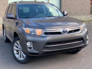 Used 2012 Toyota Highlander Hybrid Sport Leather Sunroof Camera for sale in Oakville, ON