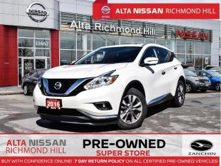 Used 2016 Nissan Murano SL   Blind Spot   Leather   360 CAM   PWR Seats for sale in Richmond Hill, ON