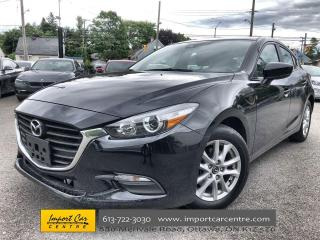 Used 2017 Mazda MAZDA3 GS CLOTH  ALLOYS  HTD SEATS  BACKUP CAMheated for sale in Ottawa, ON