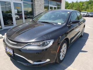 Used 2015 Chrysler 200 Limited Hands Free Heated Seats Alloys for sale in Trenton, ON