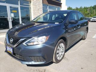 Used 2016 Nissan Sentra 1.8 S Automatic CVT for sale in Trenton, ON