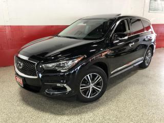 Used 2017 Infiniti QX60 AWD NAVI REAR CAMERA BLUETOOTH PANO-ROOF 7 SEATER for sale in North York, ON