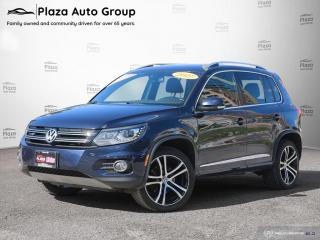 Used 2017 Volkswagen Tiguan Highline | R-LINE | 7 DAY EXCHANGE for sale in Richmond Hill, ON