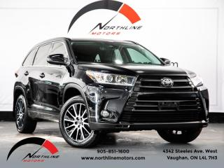 Used 2017 Toyota Highlander SE AWD|7 Passenger|Navigation|Lane Departure|Blindspot for sale in Vaughan, ON