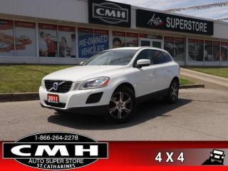 Used 2011 Volvo XC60 T6  AWD LEATH ROOF P/SEATS HS P/GATE for sale in St. Catharines, ON