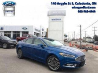 Used 2017 Ford Fusion Titanium AWD - Leather, Moonroof, Navigation for sale in Caledonia, ON