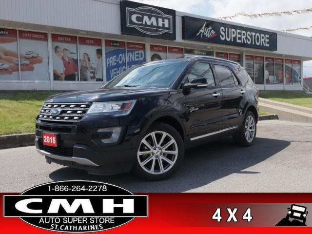 2016 Ford Explorer Limited  4WD DVD's ADAP-CC CW 6-PASS LD