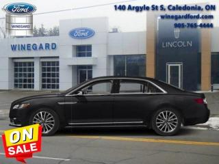 Used 2017 Lincoln Continental Reserve AWD - Dealer Demo for sale in Caledonia, ON