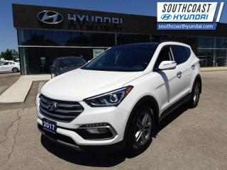 Used 2017 Hyundai Santa Fe Sport 2.4L Luxury AWD  - $153 B/W for sale in Simcoe, ON