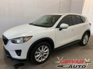 Used 2013 Mazda CX-5 GT AWD Cuir Toit Ouvrant Mags *Traction intégrale* for sale in Trois-Rivières, QC