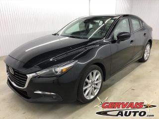 Used 2017 Mazda MAZDA3 GT Premium GPS Cuir Toit Ouvrant Mags for sale in Shawinigan, QC