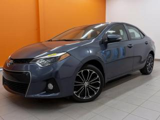 Used 2016 Toyota Corolla S SIÈGES CHAUFF TOIT OUVRANT NAV *CUIR* for sale in St-Jérôme, QC