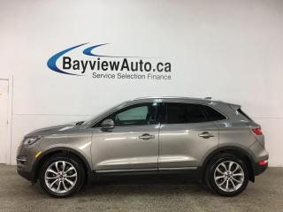 Used 2016 Lincoln MKC Select - AWD! HTD LEATHER! NAV! SYNC! + MUCH MORE! for sale in Belleville, ON
