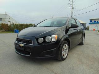 Used 2012 Chevrolet Sonic ******AUTOMATIQUE******ÉCONOMIQUE****** for sale in St-Eustache, QC