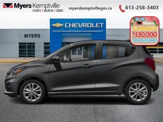 New 2020 Chevrolet Spark LT  - MyLink - SiriusXM for sale in Kemptville, ON