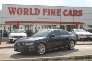 Used 2011 Audi A4 2.0T Premium Plus | Quattro AWD | *6-Speed*| S-Line for sale in Etobicoke, ON