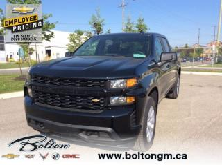 New 2020 Chevrolet Silverado 1500 Silverado Custom - Apple CarPlay for sale in Bolton, ON