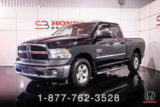 Used 2013 RAM 1500 ST + 4X4 + QUAD + A/C + WOW! for sale in St-Basile-le-Grand, QC