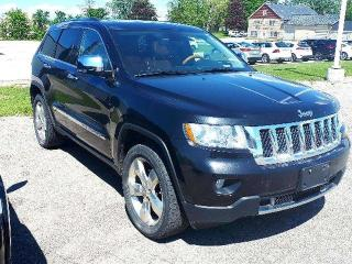 Used 2013 Jeep Grand Cherokee Overland for sale in Listowel, ON