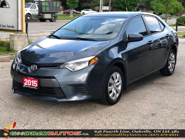 2015 Toyota Corolla LE|NO ACCIDENT|BLUETOOTH|HEATED SEATS|CERTIFIED