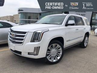 Used 2018 Cadillac Escalade Platinum 4WD | Massaging Seats | 3 DVDs for sale in Winnipeg, MB