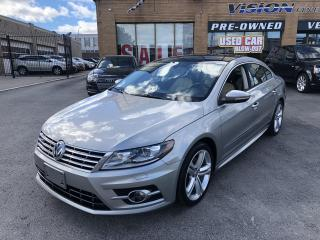 Used 2015 Volkswagen Passat CC 4dr Sdn Man Highline-PANO ROOF-NAVI for sale in North York, ON