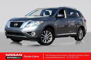 Used 2015 Nissan Pathfinder SL AWD NAVIGATION / TOIT PANORAMIQUE / CUIR / ANGLES MORTS for sale in Montréal, QC