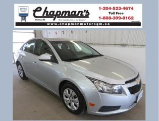 Used 2014 Chevrolet Cruze 1LT Bluetooth, Satellite Radio, Climate Control for sale in Killarney, MB