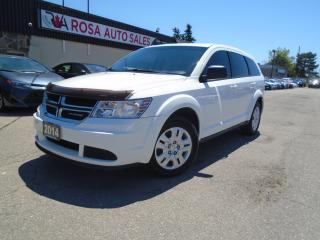 Used 2014 Dodge Journey AUTO LOW KM NO ACCIDENT SAFETY AUX USB A/C for sale in Oakville, ON