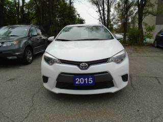 Used 2015 Toyota Corolla LE for sale in Mississauga, ON