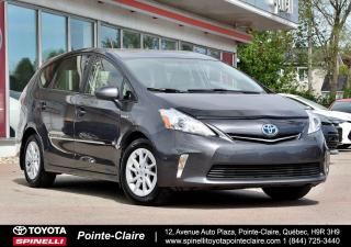 Used 2014 Toyota Prius V HYBRID GROUPE ÉLECTRIQUE for sale in Pointe-Claire, QC