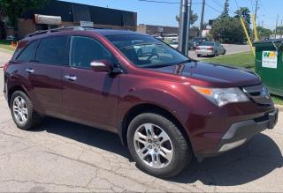 Used 2008 Acura MDX Navigation + Rear View Camera for sale in North York, ON