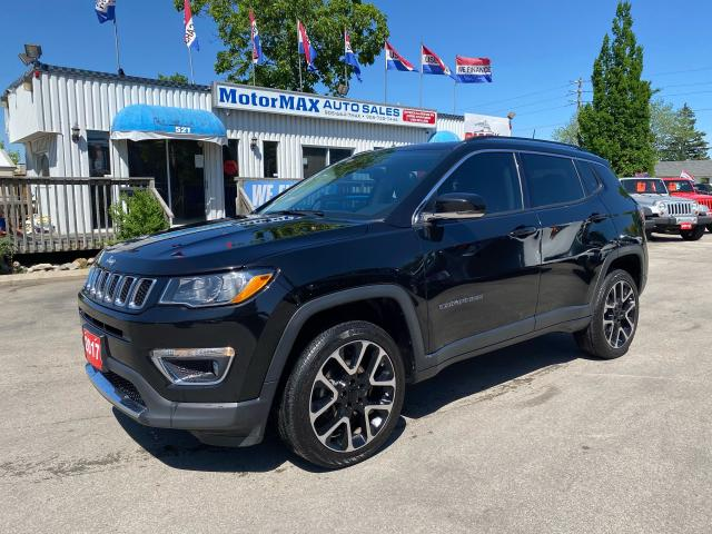 2017 Jeep Compass LIMITED-4X4-ACCIDENT FREE