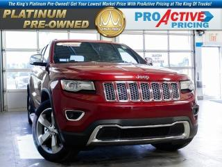 Used 2014 Jeep Grand Cherokee Limited for sale in Kindersley, SK