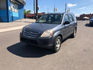 Used 2005 Honda CR-V LX Auto for sale in Toronto, ON