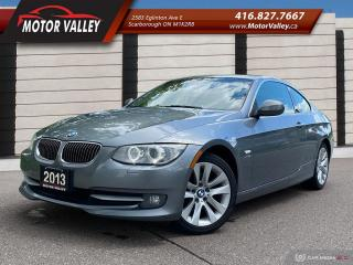 Used 2013 BMW 3 Series 328i xDrive Coupe 086,528KM Mint! for sale in Scarborough, ON