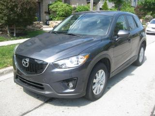 Used 2014 Mazda CX-5 CERTIFIED, BCK CAMERA, NO ACCIDENTS, LEATHER, SUNR for sale in Toronto, ON
