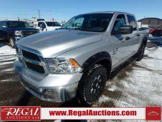 Used 2019 RAM 1500 Classic SXT CREW CAB 4WD 5.7L for sale in Calgary, AB