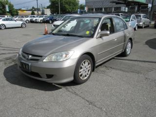 Used 2004 Honda Civic LX for sale in Vancouver, BC